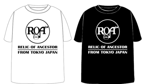 ROA 'RCA' T-SHIRTS (BLACK/WHITE)