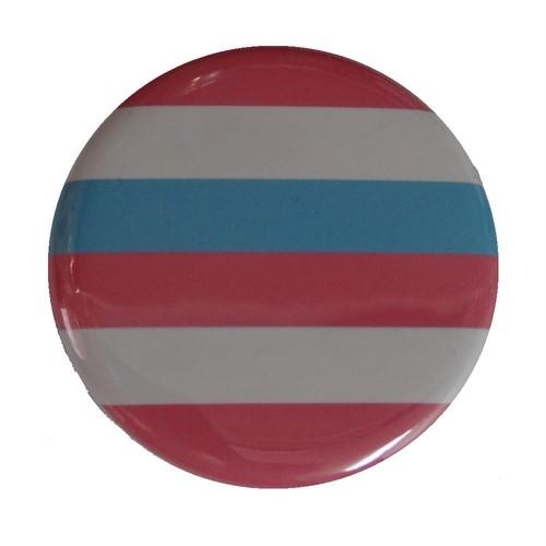 プライドフラッグ缶バッジ〈インターセックス①/Intersex①〉