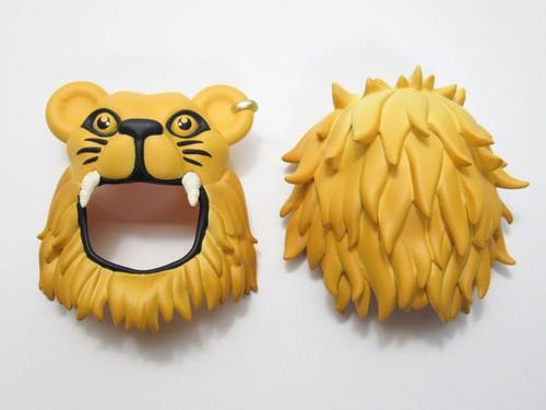 再入荷【1330】 ルーナ・ラブグッド  髪パーツ ライオンの被り物 ねんどろいど