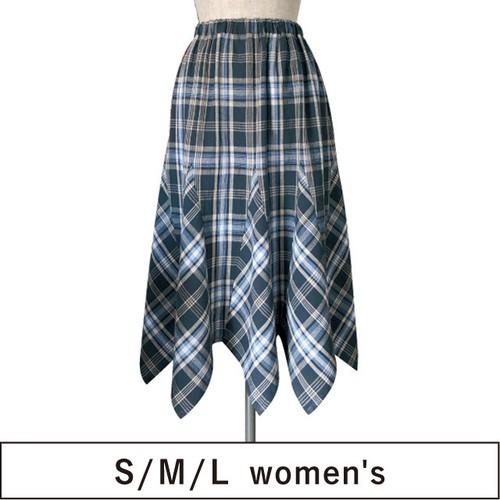 8枚はぎバイアス スカート SML