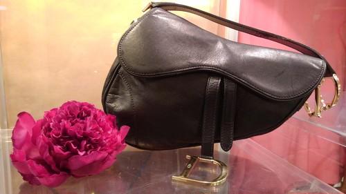 【Christian Dior/クリスチャンディオール】サドル ショルダーバッグ