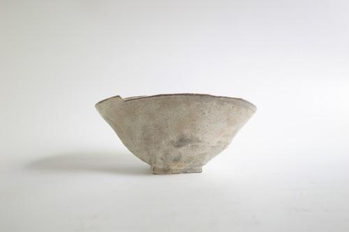 中鉢 皿 灰色