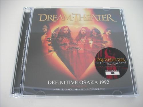【2CD】DREAM THEATER / DEFINITIVE OSAKA 1992