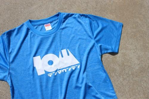 10山 / テンマウンテン ヘザーブルーTシャツ