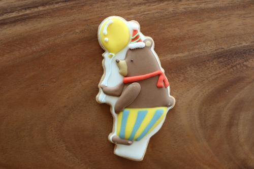 スタンディングクッキー ベア イエロー