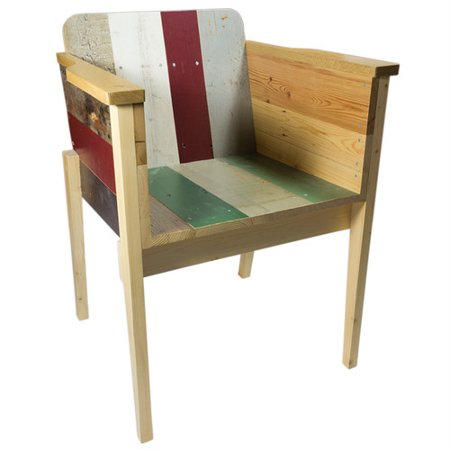 PIET HEIN EEK Scrapwood Arm Chair