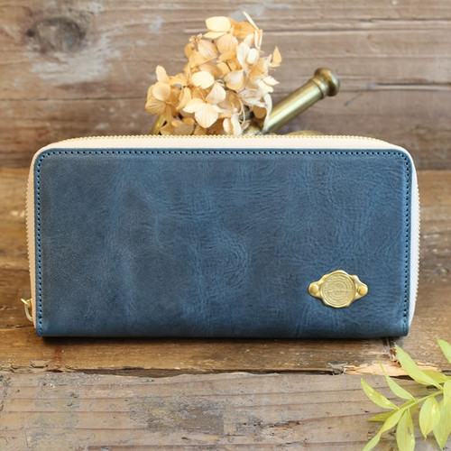 Long Wallet / SEA BLUE