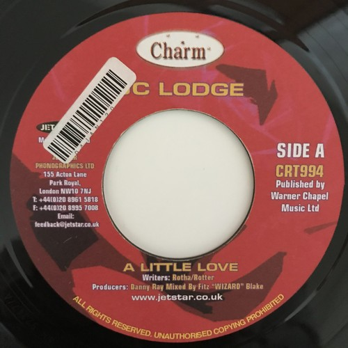 Jc Lodge - A Little Love【7-10868】