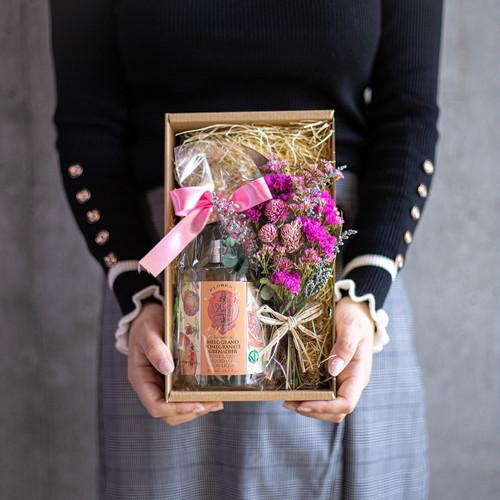 ハンドソープ(ザクロ)とスワッグ(pink)のセット 母の日ギフト