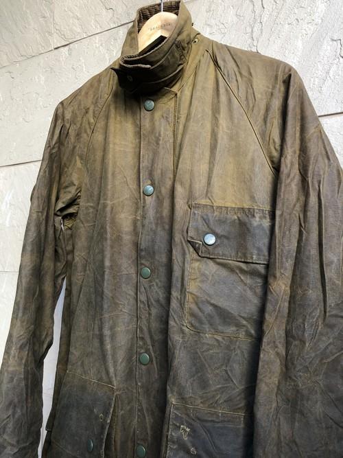 1 crest Barbour SOLWAY ZIPPER waxed jacket