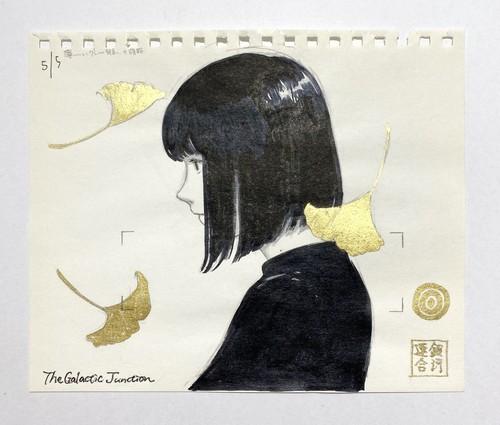 〔新宿オンライン〕吉田なつ樹 / ドローイング「2019.5/5」