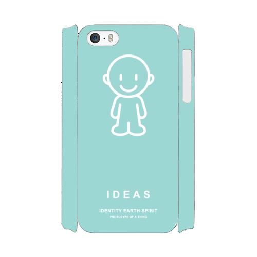 IDEAS/iPhone5/5s/SEケース 801-グリーン