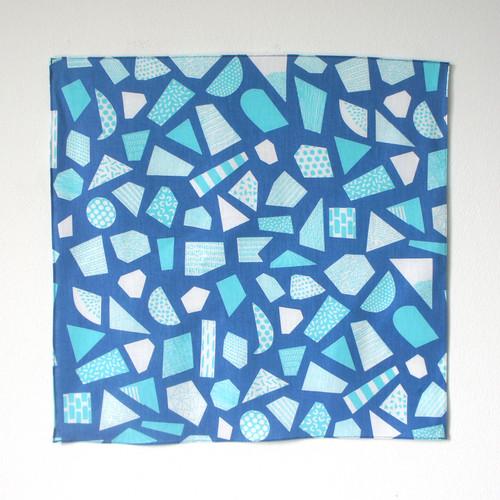 ハンカチ UMO #1 ブルー