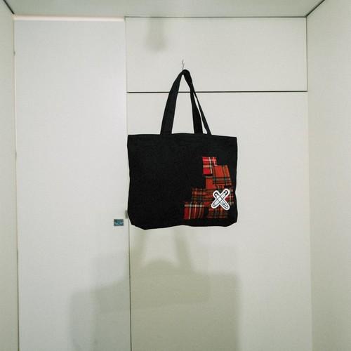 -Checked pin-Tote Bag