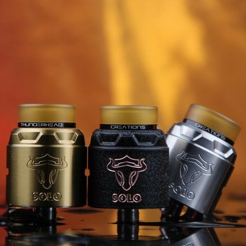 Tauren Solo by THC【正規品】【送料無料】【カラー各種】【24MM】【leak proof】【locking system】【Thunderhead Creations BF RDA】