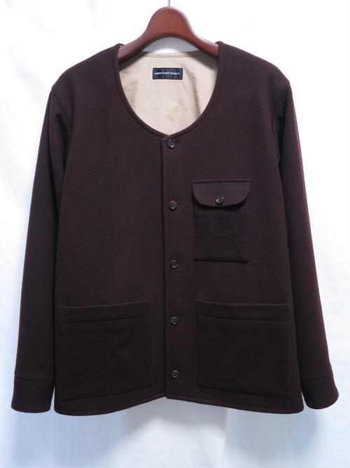 Wool No Collar Jacket