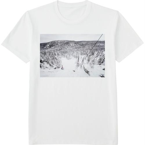 78.Finland100 Tシャツ / 滝の上から