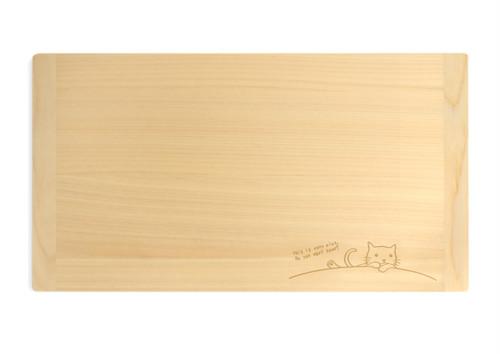 メルペール ネコ まな板(普通サイズ)
