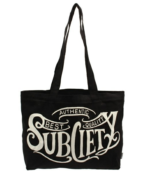 Subciety サブサエティ / TOTE BAG-BK- トートバッグ