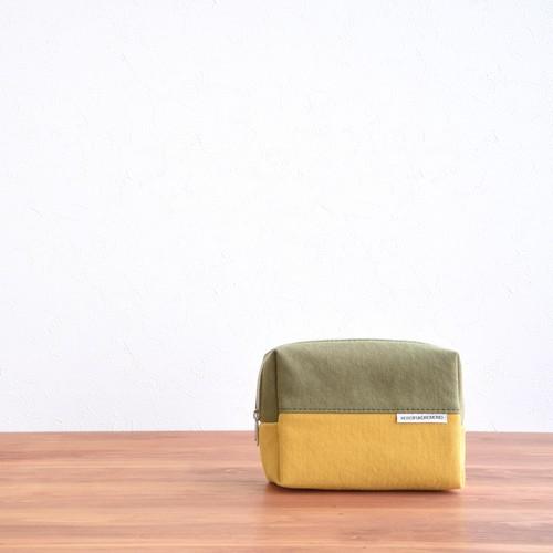 CANVAS BOX POUCH M / MG×MA