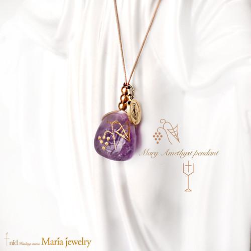 Maria Jewelry ・Amethyst Pendant