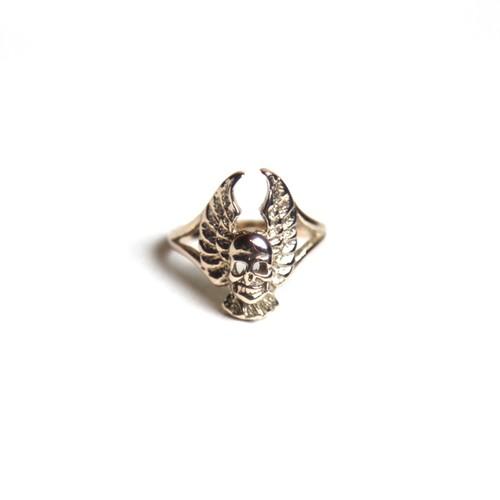 Rhomvas/ロンヴァス Wing&skull ring