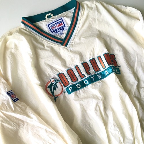 STARTER : 「MIAMI DOLPHINS」 wormup jacket (used)