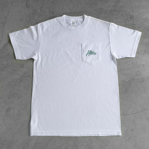 ALLDAY Back Print T-Shirts / WHT