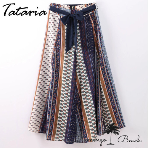 【FlamingoBeach】boho pants