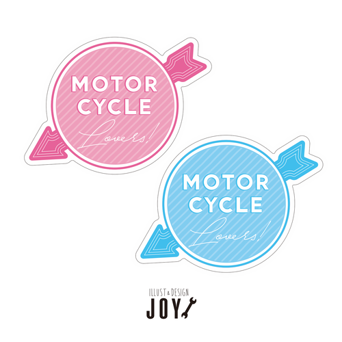 Motor cycle Lovers ステッカー