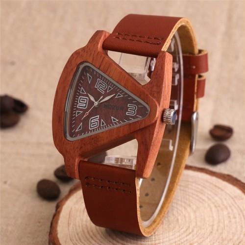 腕時計 木製 シャープ