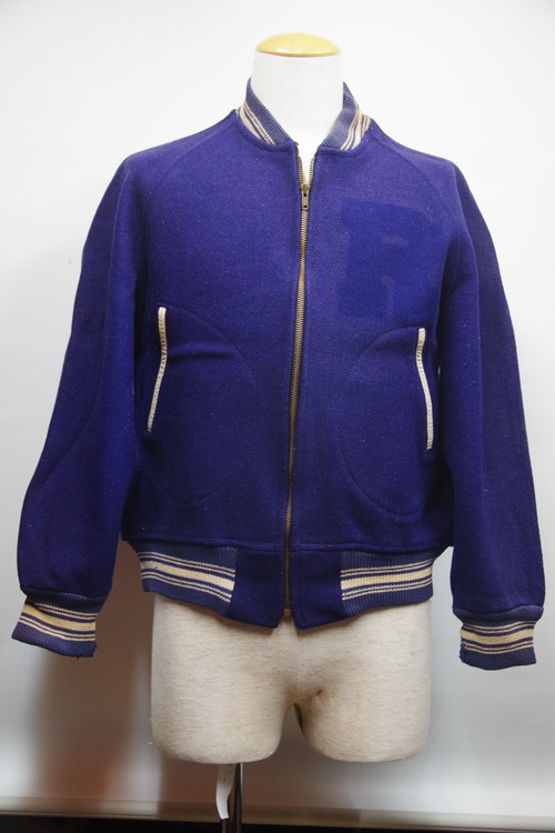 50's National ZIP UP Stadium Jacket(ハンドウォーマーポケット)