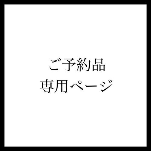 【ご予約専用ページ】n様のご予約(白い虎のマメポ)