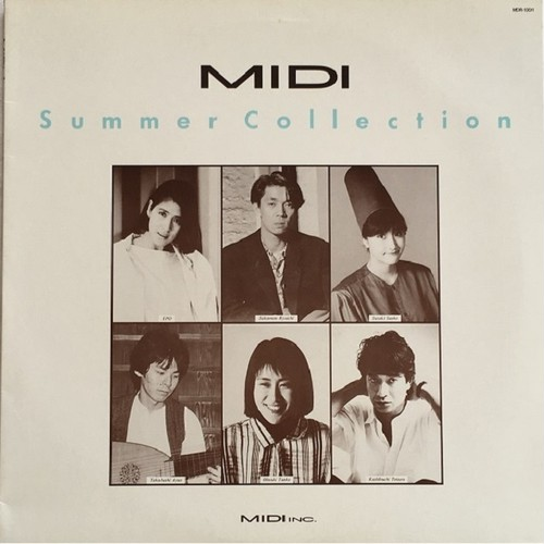 【LP・国内盤】Various Artists / MIDI Summer Collection
