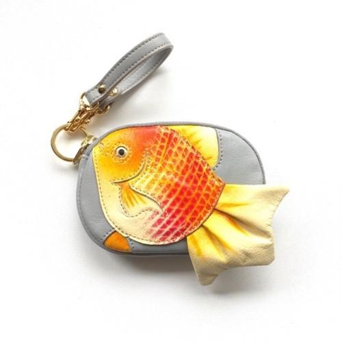 ひらひら金魚のマメポ
