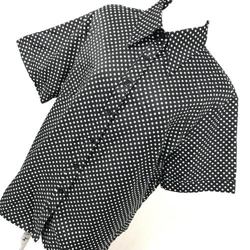 スモールドット 半袖シャツ