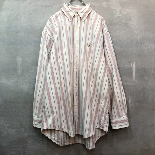 POLO RALPH LAUREN ストライプシャツ #958