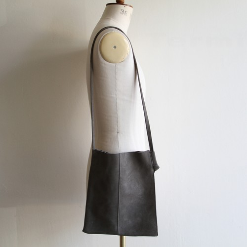 STILL BY HAND  【 mens 】leather shoulder