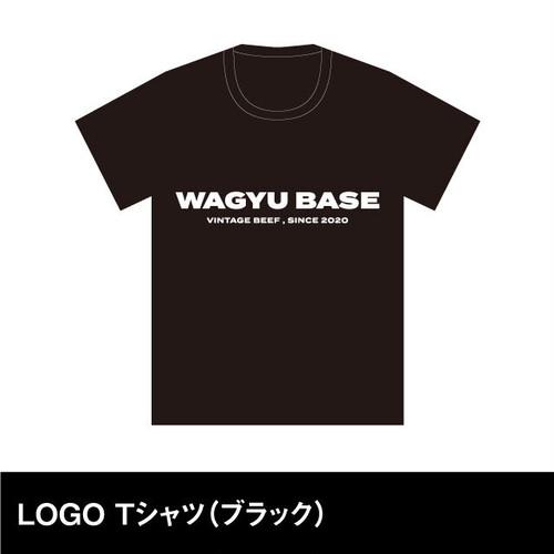 WAGYU BASE  LOGO Tシャツ(ブラック)