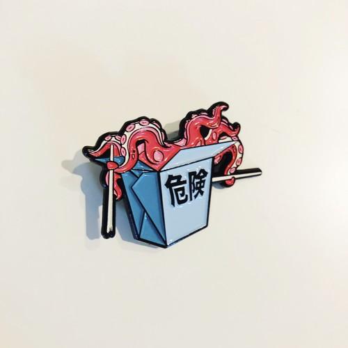 POP DRAW 危険PIN(レッド)