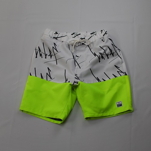 """OKI KENICHI""  × ""SHORT PANTS EVERY DAY"" SHORTS WHITE / BLACK"