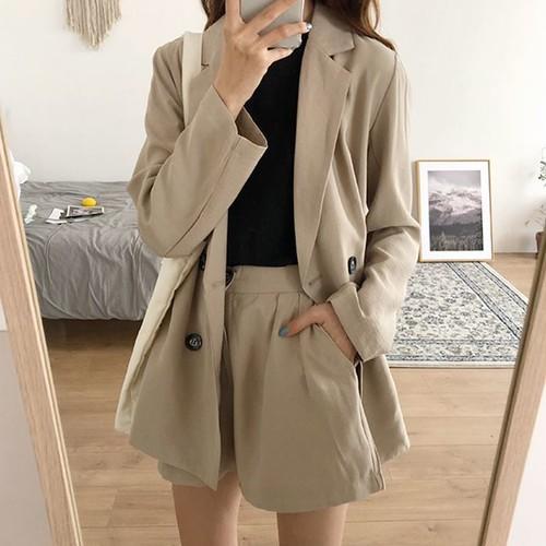 【お取り寄せ商品】スーツジャケットセットアップ 6933