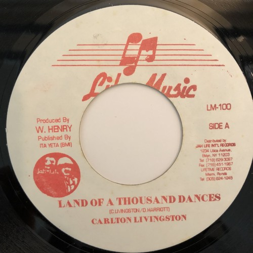 Carlton Livingston - Land Of A Thousand Dances【7-20317】