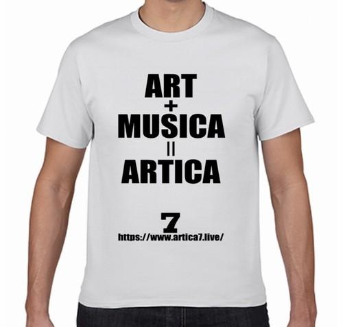 アルティカセブン 公式Tシャツ(白)