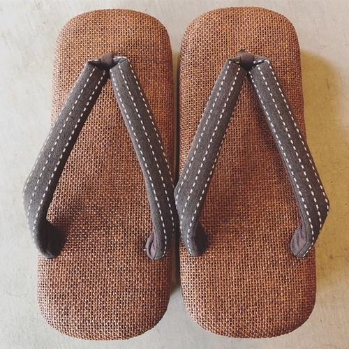 草履 ラタンメッシュ 男性用 日本製