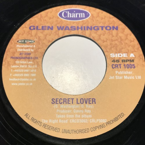 Glen Washington - Secret Lover【7-10861】