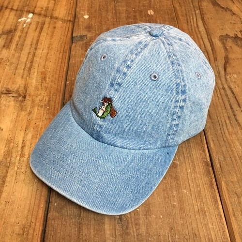 bassmania HAND BASS denim CAP