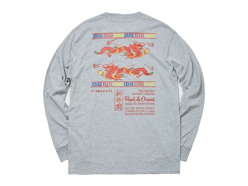 WHIMSY (ウィムジー) / DRAGON L/S TEE -GREY-