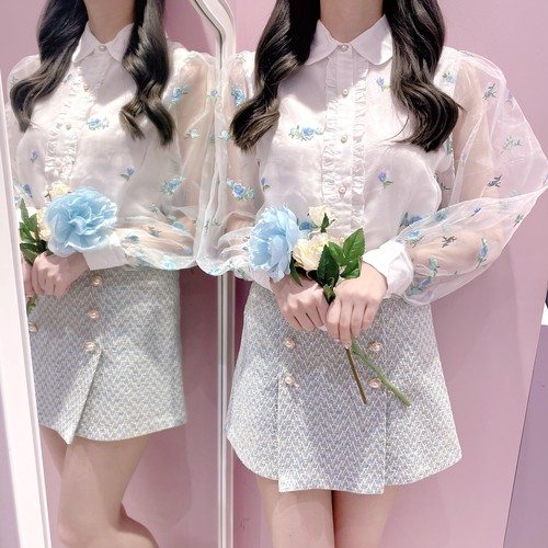 【Sister Jane】Dainty May Embroidered Blouse