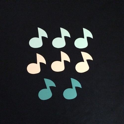 音符の壁面装飾8個セット